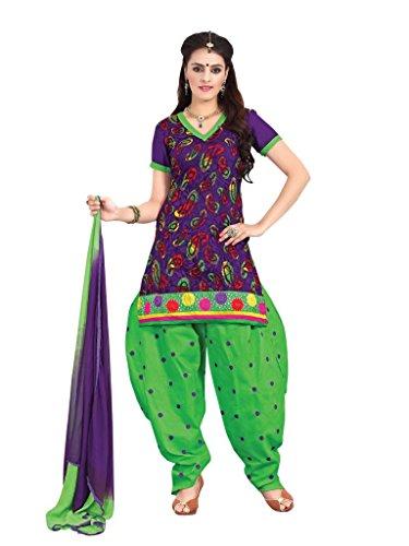 Vibes Pure Cotton Straight Fit Un-Stitched Salwar Kameez V98-7
