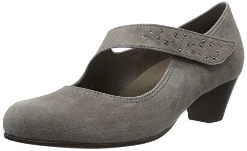 Gabor Comfort Basic, Escarpins Femme Beige (Dark-Beige 41)