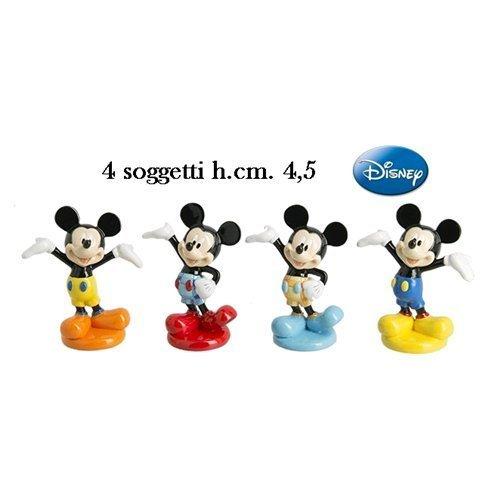 Bomboniera topolino disney resina colorata lucida altezza cm. 4.5 - q066500