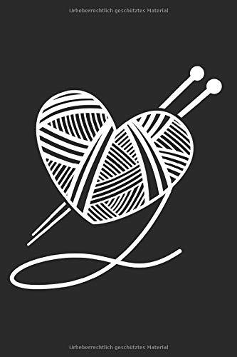 Notizbuch: Stricken Häkeln A5 liniert I Geschenk für Strickbegeisterte I Tagebuch Journal oder Notizheft für Strickprojekte I Strickmuster