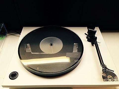 Vinyl Guru Perspex Transparent (Acrylique) Tapis Platine
