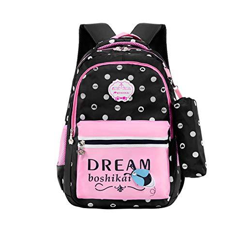 Wasserdichter Schulrucksack für Mädchen Middle School Cute Bookbag Daypack für Frauen