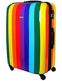 Maleta de viaje rígida TSA arco iris rainbow 820