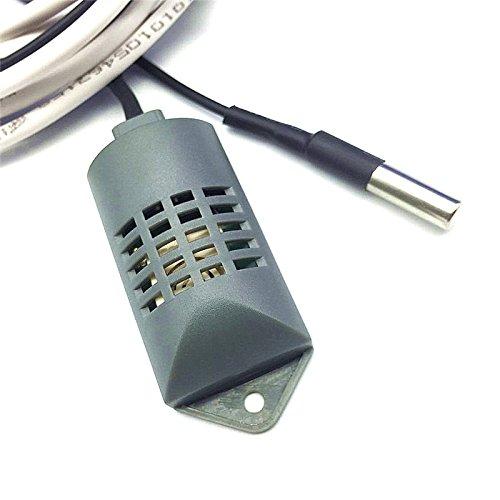 1Sets (2Pcs) 1,8m-2m Mehrzweck Inkubator Controller Temperatur Luftfeuchtigkeit Sensor Temperatur Sonde industriellen Inkubator Zubehör 1Set (Sensor + Sonde) -