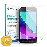 smartect Protection d'Écran en Verre Trempé pour Samsung Galaxy Xcover 4 [2X Mat] -...