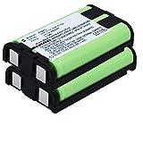 subtel 2X Qualitäts Akku kompatibel mit Panasonic KX-TG5431, TG5432, TG5439, TG5453, TG5471, TG5571 (850mAh) HHR-P104,Type 29 Ersatzakku Batterie