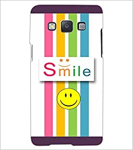 PrintDhaba Quote D-3811 Back Case Cover for SAMSUNG GALAXY E5 (Multi-Coloured)