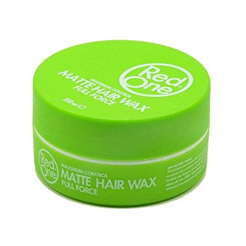 RedOne, Matte Hair Wax, Green 150 ml