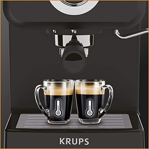 41lJwX0fq7L. SS500  - Krups XP320840 Opio Steam and Pump Coffee Machine, Black