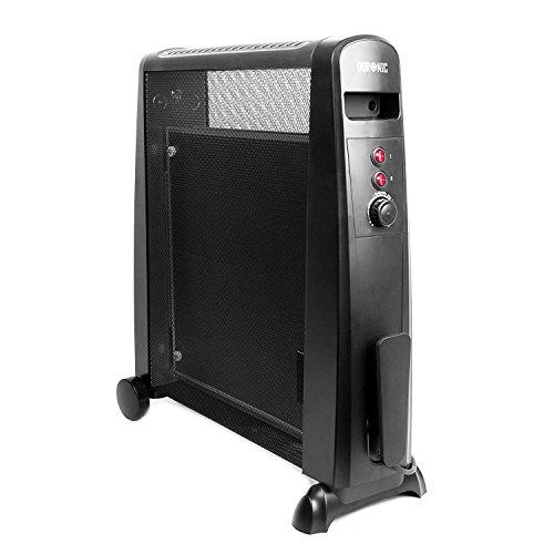 Duronic HV051, stufa elettrica con pannelli in mica da 1500 W