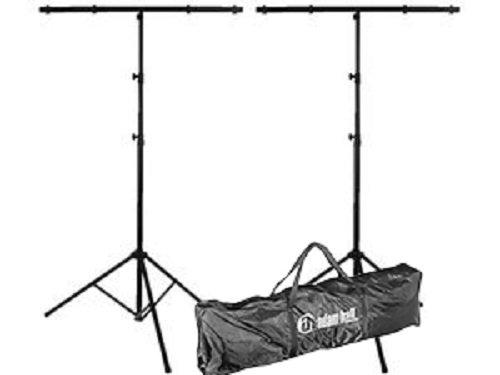 2x Beleuchtung stehen Hohe Qualität T-20kg & Adam Hall SLTS Tasche Bundle