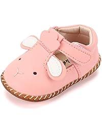 72462345b7 LACOFIA Scarpe Primi Passi da Principessa Antiscivolo per Bambina Ballerine  neonata