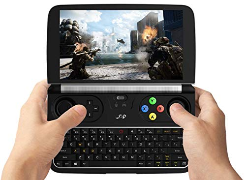 "GPD Win 2-2018 Version Mini Gaming Handheld Console Windows 10 Intel m3-7Y30 2.6Ghz HD Graphics 615 8GB LPDDR3-1866 RAM 128 M.2 SSD Dual-Band WI-Fi Bluetooth 4.2 6"" Touchscreen"
