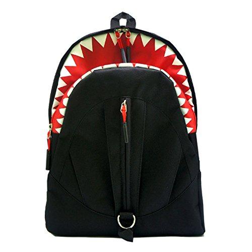 artone-tiburon-oxford-mochila-colegio-mochila-ajuste-13-ordenador-portatil-negro