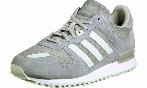 adidas Zx 700, Sneaker Bas du Cou Femme Gris (Medium Grey Heather/linen Green/grey)