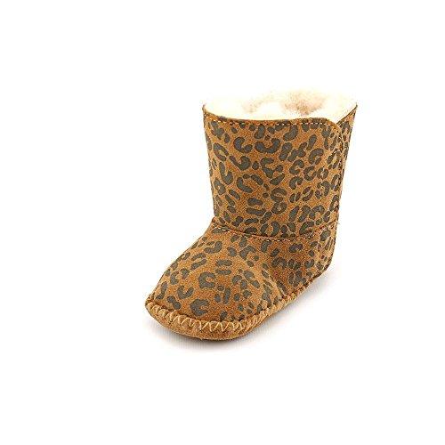 UGG Australia Classic Leopard, Mädchen Stiefel & Stiefeletten, Beige - Camel - Größe: US 0/1 (Uggs Mädchen Größe 1)