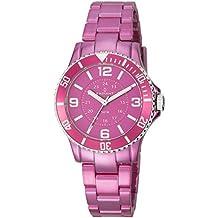 Radiant RA232211 - Reloj con correa de caucho para mujer, color rosa / gris
