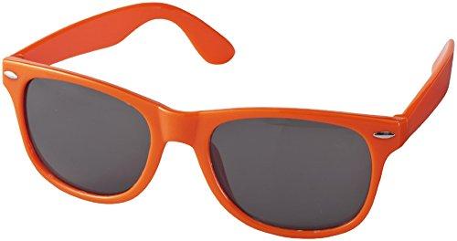 Sun Ray Sonnenbrille - Retro Design - Nerdbrille (orange)