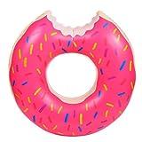 Schwimmring,Tukistore Große Donuts Schwimmring für Pool Aufblasbare Donut Schwimmen aufblasbare Kreis Ring für Kinder und Erwachsene Sommer Strand Freibad Spielzeug