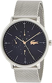 Lacoste Mens Quartz Watch, Analog Display and Stainless Steel Strap 2011024