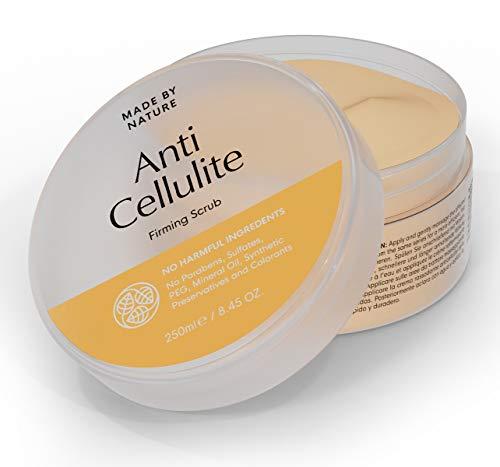 fendes Peeling - MADE BY NATURE Körperpeeling - Straffere, spannende Haut - verjüngende Wirkung - Ganz natürliche Inhaltsstoffe in Premium-Qualität - Einfach anzuwenden ()