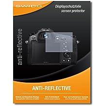 """2 x SWIDO® protecteur d'écran Sony Cybershot DSC-RX10 IV protection d'écran feuille """"AntiReflex"""" antireflets"""