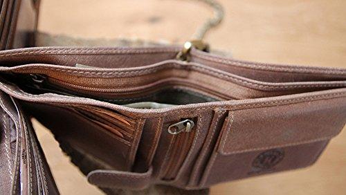 """Geldbörse mit Kette aus echtem Leder """"Harry Bike"""