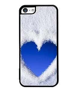 PrintVisa Cloudy Heart High Gloss Designer Back Case Cover for Apple iPhone 5c
