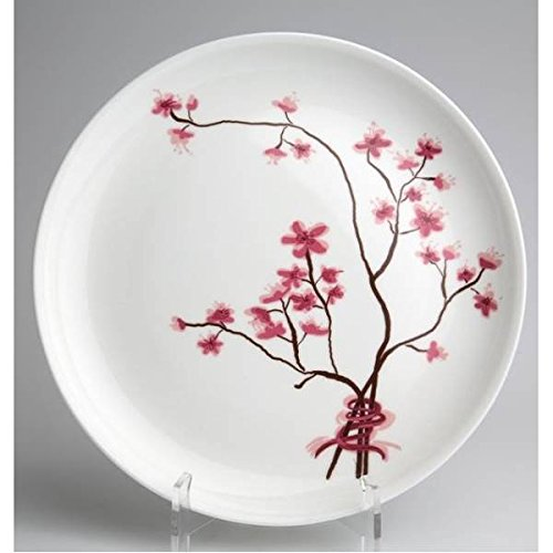 6er SET Frühstücksteller, Kuchenteller CHERRY BLOSSOM D. 19cm Porzellan TeaLogic Cherry Blossom Teller