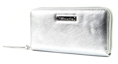 Tamaris Damen Geldbörse 7084181-941 Damen Portemonnaie Geldbeutel in Silver