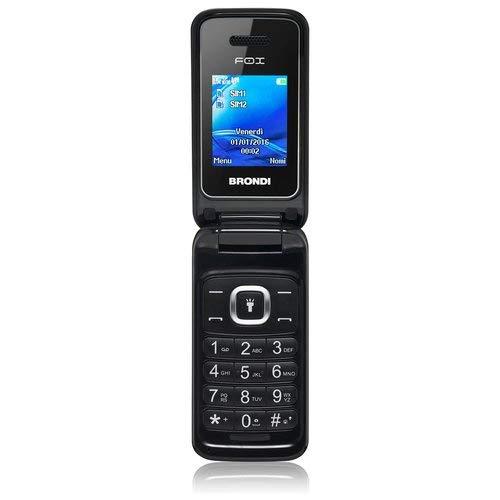 Brondi fox telefono cellulare, nero
