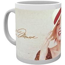 GB eye, Marilyn Monroe, White, Mug