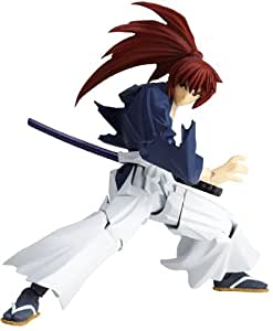 Rurouni Kenshin Revoltech Super Poseable Action Figure #110 Himura Battohsai (japan import)
