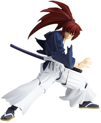 Preisvergleich Produktbild Rurouni Kenshin Revoltech Super Poseable Action Figure #110 Himura Battohsai (japan import)