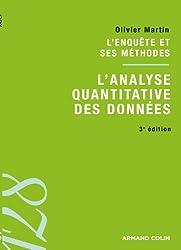 L'analyse quantitative des données: L'enquête et ses méthodes