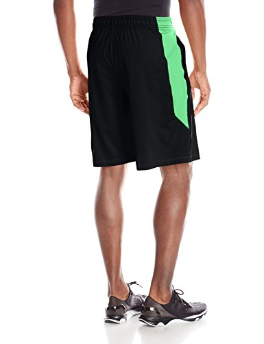 Under Armour Herren Raid 25,4cm Shorts Black/Arena Green