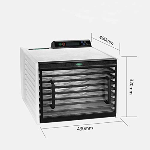 41lK8JcOPwL. SS500  - LIXHGJ Food Dehydrator, Household Electric Dehumidifier 9 Layer Tray Constant Temperature Drying 560W Electric Dryer
