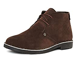 Duke Mens Synthetic Brown Coloured Boots 9