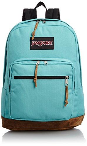 Jansport mochila derecha - Bayside azul/45,72 cm H X 33,02 cm W X 21,59 cm D
