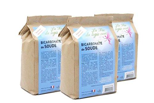 Eco-conseils ®–Natron 3kg (3x 1kg)–Verpackung 100% ökologisch