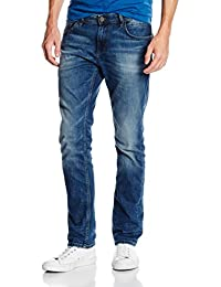 TOM TAILOR Denim Herren Jeanshose Aedan Slim Mid