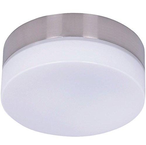 Beleuchtung Clipper für Deckenventilator von Lucci air, Chrom gebürstet, inkl. LED-Leuchtmittel GX53, 11 W -