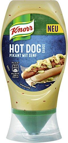 Knorr Grillsauce Hot Dog Soße 250 ml (8 x 260 g)