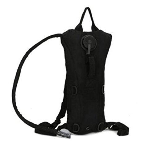 GOUQIN Outdoor Rucksack Klassische Mode 3 L Wasser Ergänzen Bewegung Tasche Auf Den Schultern Des Wasser Beutel Camping Wasser Taschen Berge Wasser Taschen Rucksack Schwarz