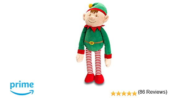 Dangly Christmas Elf 12cm Keel Toys: Amazon.co.uk: Toys & Games