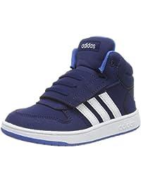 Damen Schuhe Sneaker adidas neo VS Hoops Mid Sneaker schwarz