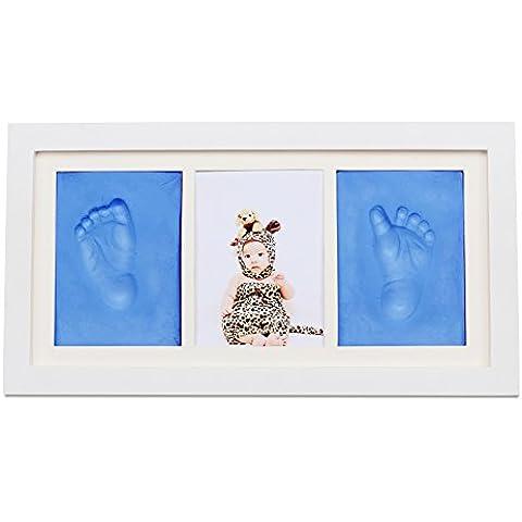 NaiFei Photo Frames Niño infantil / niña de niño clásico de Handprint o Footprint Frame Keepsake Regalos