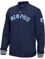 "Memphis Grizzlies Adidas NBA ""Originals"" Men's Performance Full Zip Track Jacket Veste"