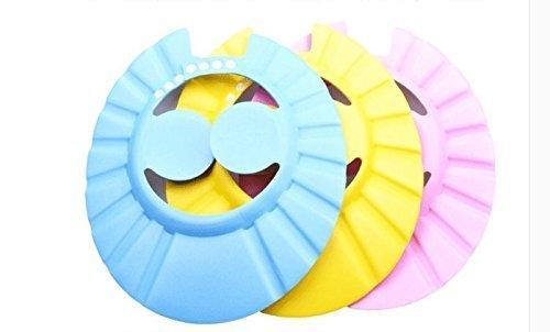 VPlus 3 Stück Baby Shampoo Cap Safe Shampoo Dusche Bade Schutz Soft Cap Hut für Kleinkinder, Baby, Kinder & Kinder, um das Wasser aus ihren Augen und Gesicht
