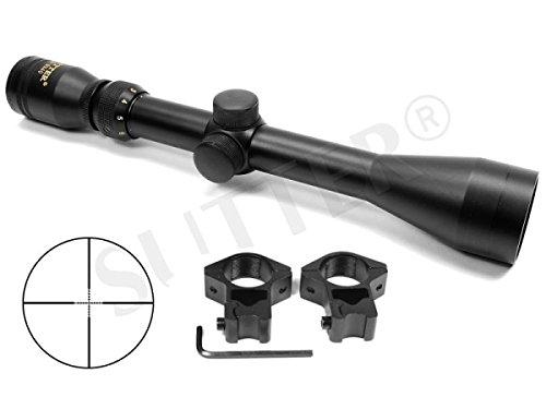 SUTTER Zielfernrohr 3-12x40 d=25,4 Mildot - Montagen für 11mm Prismenschiene -